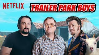 Trailer Park Boys discuss Flat Earth - language warning ✅
