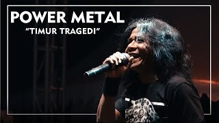 Power Metal - Timur Tragedi ( Live at Jogjarockarta 2017 ) Official HD
