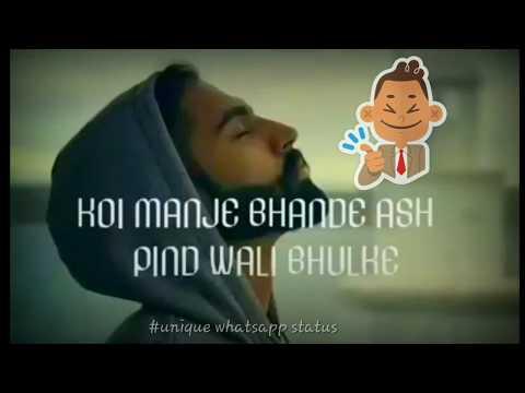 Kache Pakke Yaar Whatsapp Status  Parmish Verma  Latest