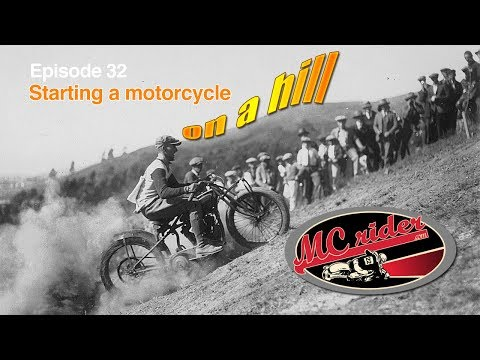 Two techniques to start a motorcycle on a hill - MCrider