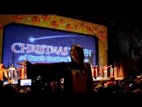 Christmas town announcement at busch gardens tampa youtube - Busch gardens christmas town rides ...