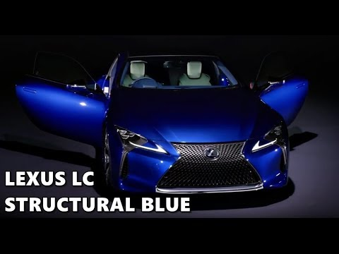 2018 Lexus Lc Structural Blue Explained Youtube