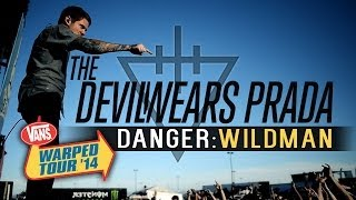 "The Devil Wears Prada - Intro & ""Danger: Wildman"" LIVE! Vans Warped Tour 2014 (Sacramento, CA)"