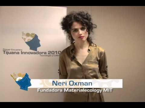 Testimonio EnTI10: Neri Oxman