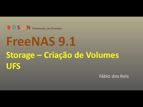 FreeNAS 9 1 - Storage - Criar Volumes UFS