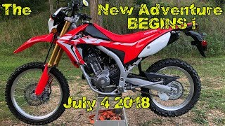 Spillin The Beans ! Back to The WOODZ Ride 2018 Honda CRF250L