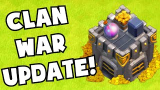 Clash of Clans NEW CLAN WAR UPDATE BALANCE CHANGES   THE FUTURE OF CoC CLAN WARS