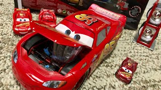 Disney Pixar Cars 1:24 Scale Rusteze Lightning McQueen With Tire Rack Diecast Review ⚡️⚡️⚡️