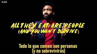 Zombies- Childish Gambino [Lyrics (Sub. Inglés-Español)]