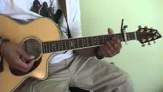 "How to Play ""500 Miles""On Acoustic Guitar Pt2 The Lesson    www.rayred.com"