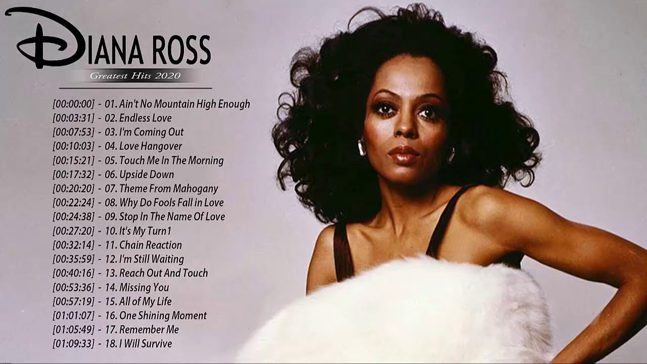 Diana Ross Greatest Hits - Diana Ross Best Of Album - Diana Ross Top Hits