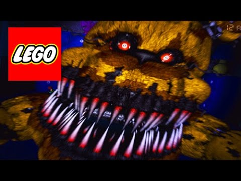 How To Build: LEGO (Five Nights at Freddy's 4) Nightmare Fredbear