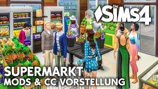 Supermarkt Mod & Objekte für Die Sims 4 als Download | CC Vorstellung (deutsch)