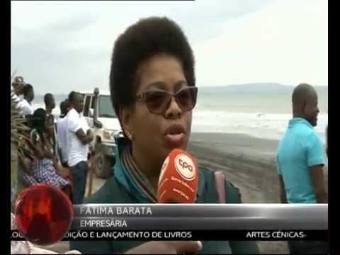 Telejornal TPA Porto de Caio - Cabinda