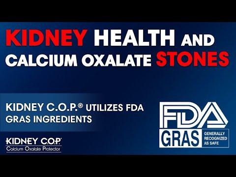 Kidney C.O.P. Utilizes FDA GRAS Ingredients