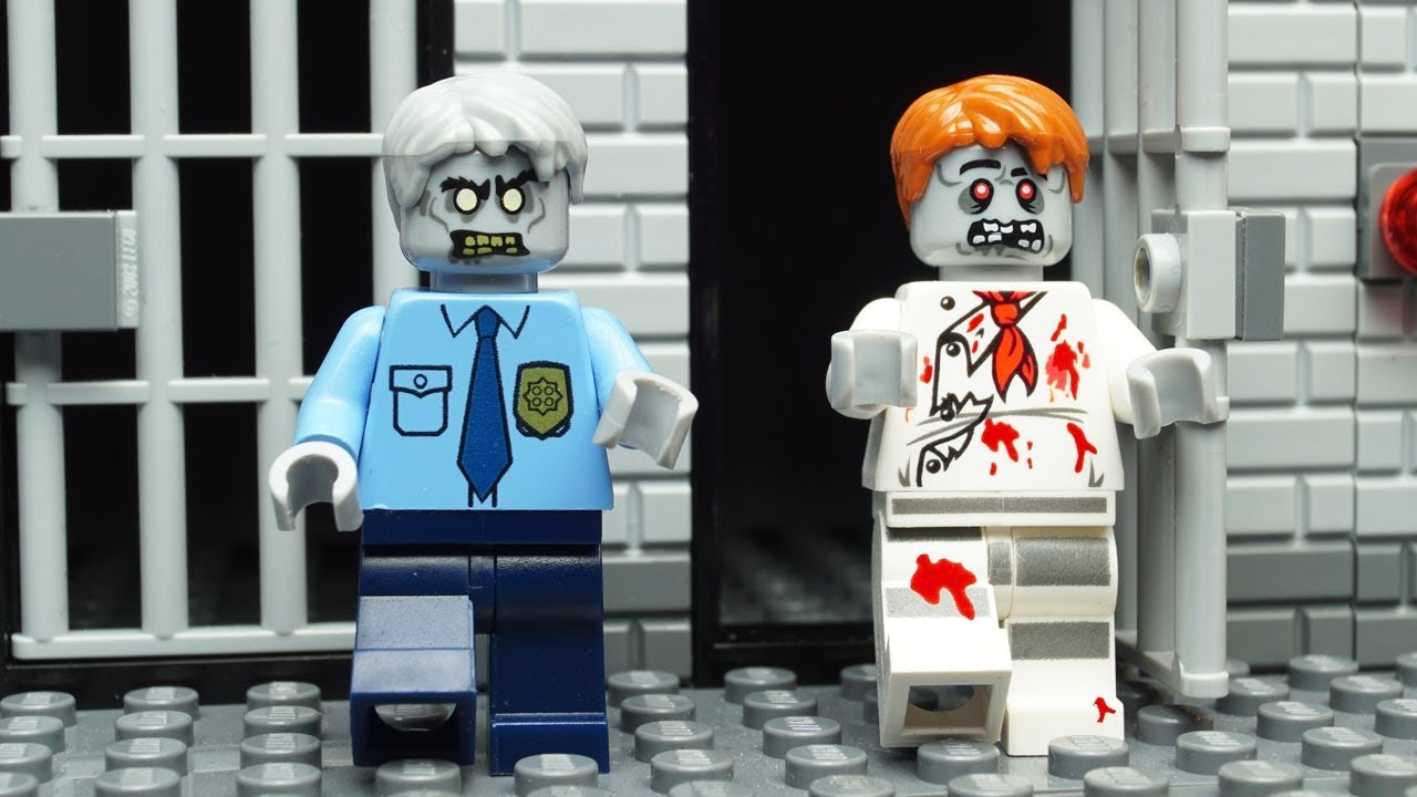 Lego Zombie Prison Break Youtube