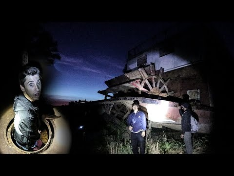OVERNIGHT ON ABANDONED HAUNTED SHIP! **Viewer Warning for End of Video**