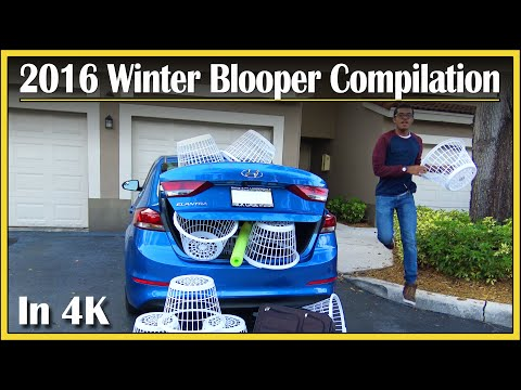 Well... That Wasn't Supposed To Happen! | 2016 Winter Bloopers | DriveAndBeDriven Blooper Clips