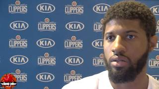 Paul George On The Clippers NBA Title Chances, Shoulder Injuries, The Bubble & More. HoopJab