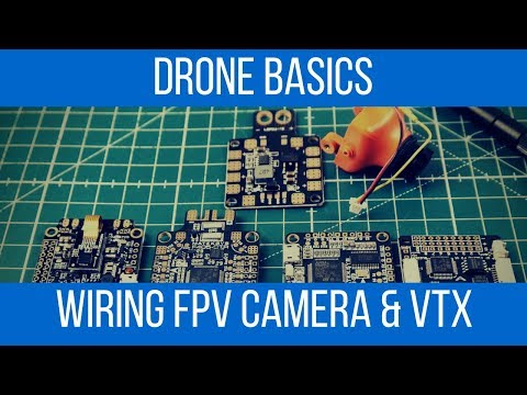 How to setup and wire FPV Camera and VTX // Under 5 Minutes