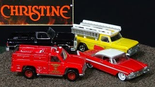 2015 G Hot Wheels Retro Entertainment with Christine Close Encounters Of The Third Kind and More