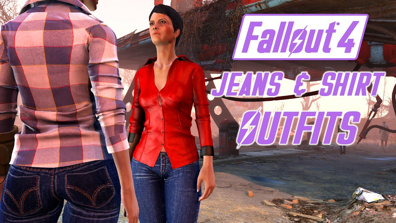 Fallout 4 Shirt Mod