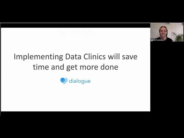 Locally Optimistic Meetup -  Data Clinics