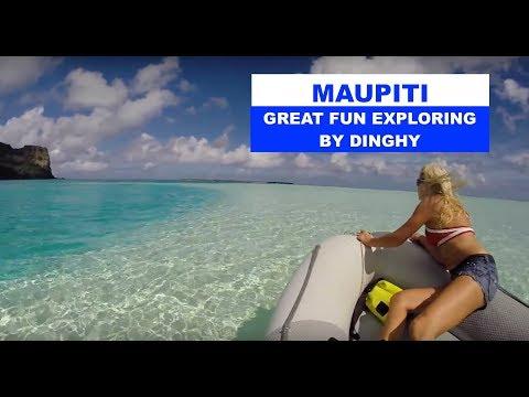 IMPI - Island MAUPITI - DINGHY FUN in French Polynesia