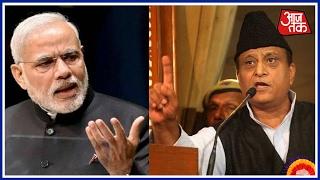 samajwadi party leader azam khan compares pm narendra modi to ravan