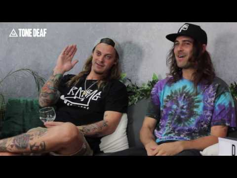 Dune Rats talk Hottest 100, recording at Joshua Tree, toilet roll bongs and more