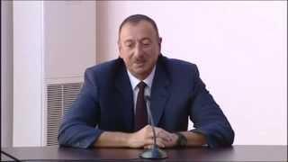 """Ilham Eliyev Ramil Seferov haqqinda - """" Kim ne deyir desin, biz bunu etmishik duz de etmishik"""""""