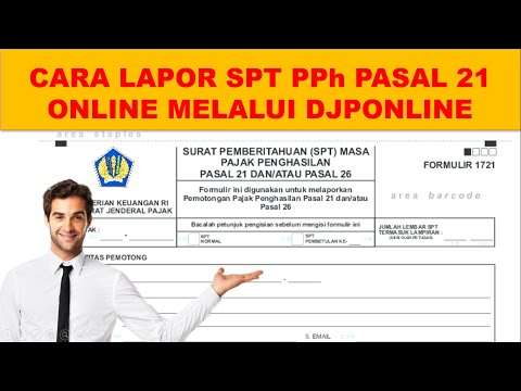 Kode Billing Pph 29 Orang Pribadi Youtube