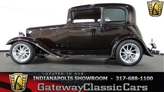 1932 Ford Victoria - Gateway Classic Cars Indianapolis - #357 NDY
