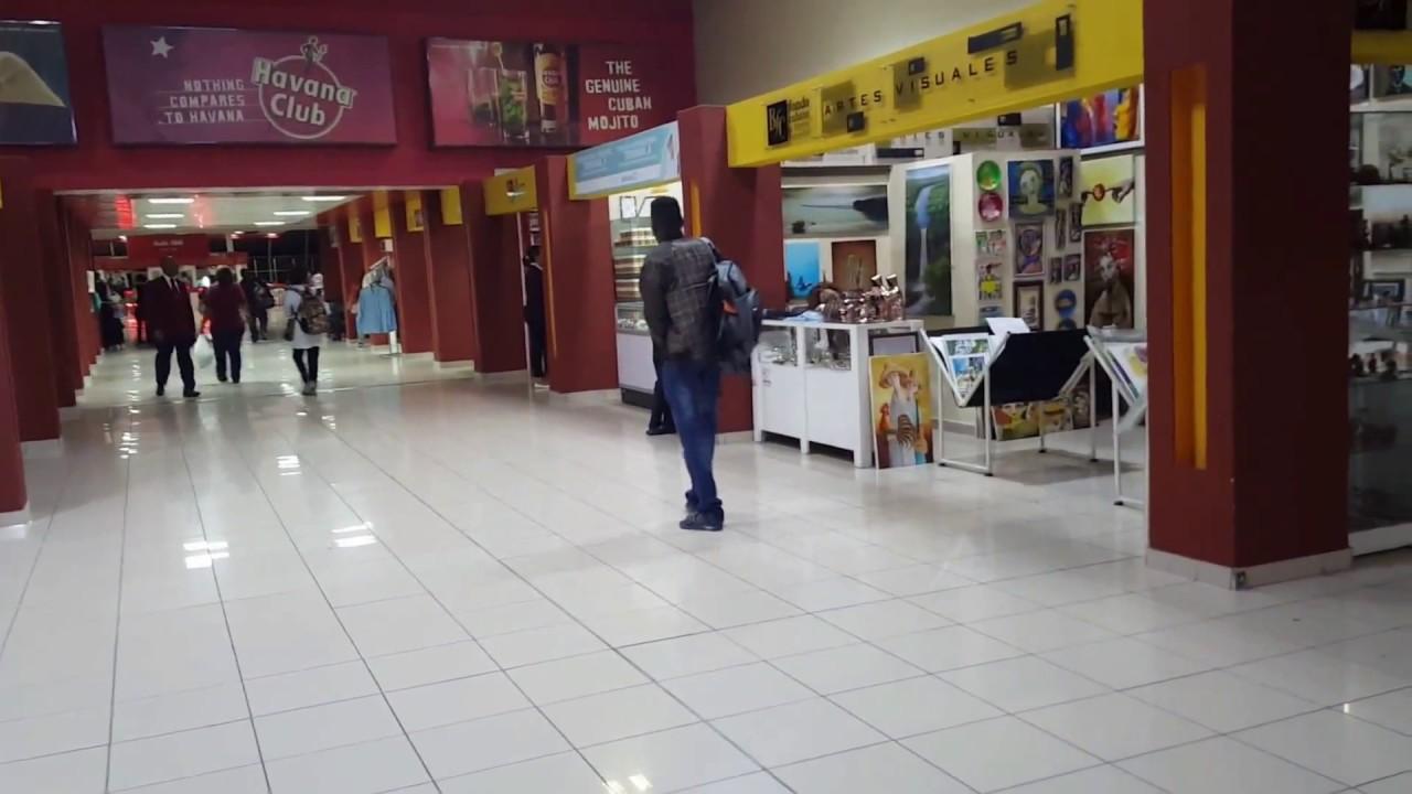 Aeroporto Havana Arrivi : Cuba havana josé martí international airport duty free shop youtube