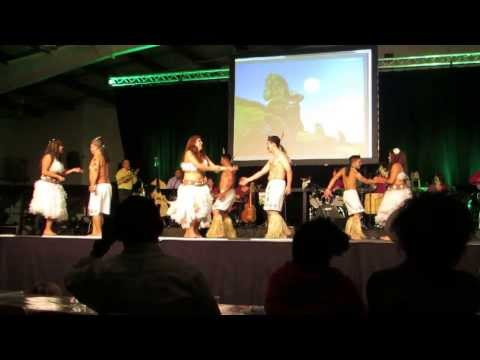 Chilean Pavilion Folklorama 2013 - Pascuense