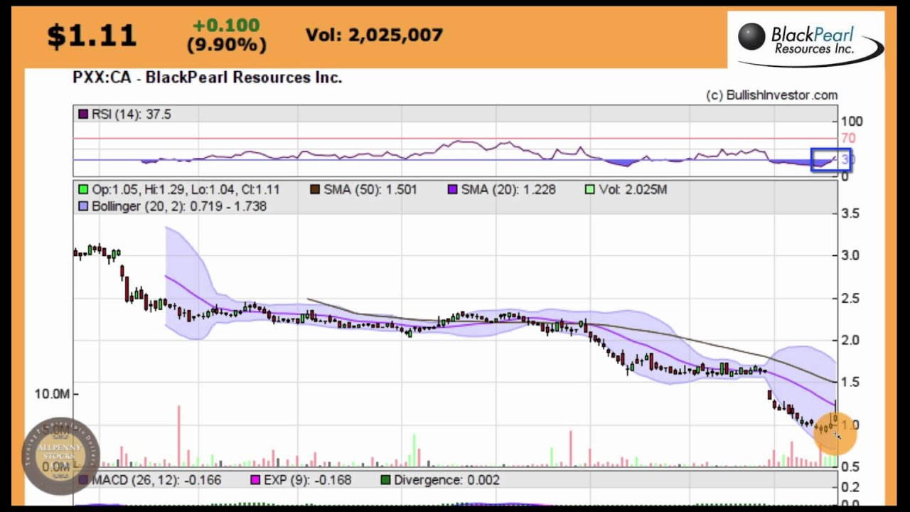Black Pearl Resources Pxx Bottom Play Stock Chart Youtube