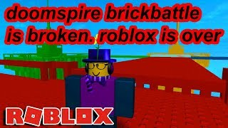 MY FAVORITE ROBLOX GAME BROKE... ROBLOX IS TRULY ENDING