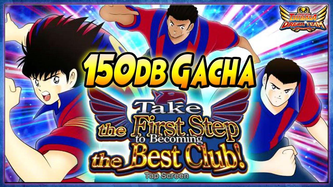 "150db GACHA ""New"" TSU-BARCA V2, LUIKAL, GRANDIOS + DREAMPOT Gacha - Captain Tsubasa Dream Team"