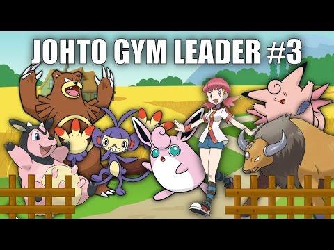 Johto Gym Leader #3 (Whitney) - Pokemon Battle Revolution (1080p 60fps)