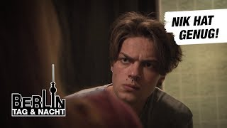 Berlin - Tag & Nacht - Nik hat die Schnauze voll! #1713 - RTL II