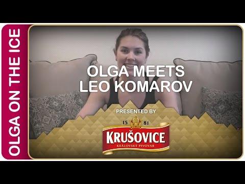 Olga meets Leo Komarov | #IIHFWorlds Pre-Game