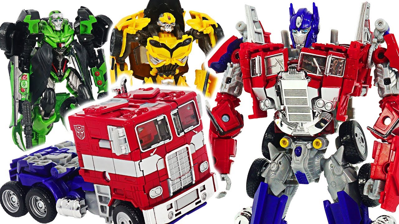 Transformers Movie Bumblebee Optimus Prime  Defeat