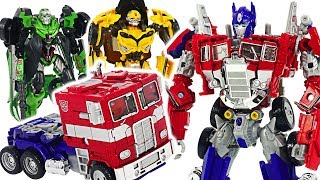 Transformers movie Bumblebee Optimus Prime! Defeat Decepticon Megatron! #DuDuPopTOY
