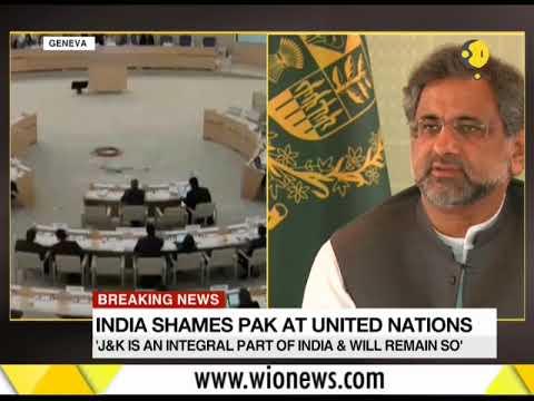 Gravitas: India shames Pakistan at United Nations