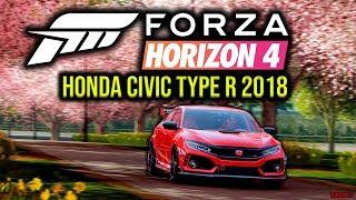 Forza Horizon 4 PC - Honda Civic Type R 2018 | #7 Test Drive - Spring | 1080p & 60 FPS