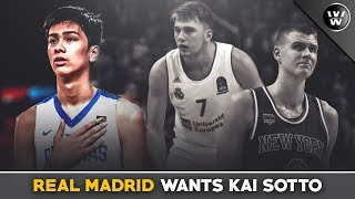 Kai Sotto's 54 Million Offer from Real Madrid?