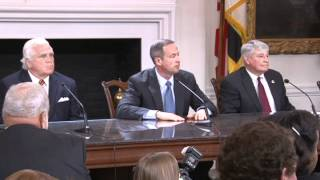 Tension Tuesday at the MD General Assembly Bill Signing