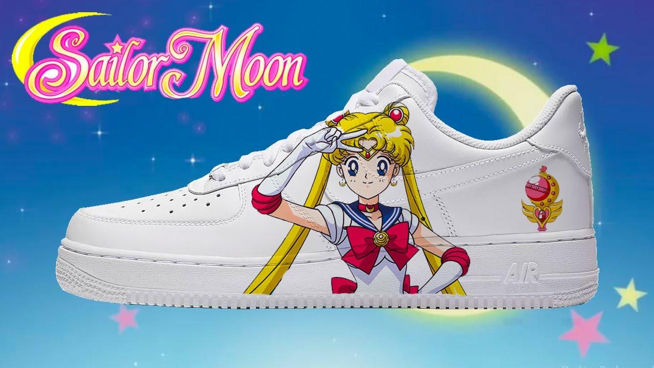 Sailor Moon Nike Air Force 1s