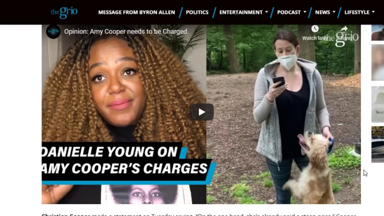 Christian Cooper Refuses to Cooperate in Case Against Central Park Karen