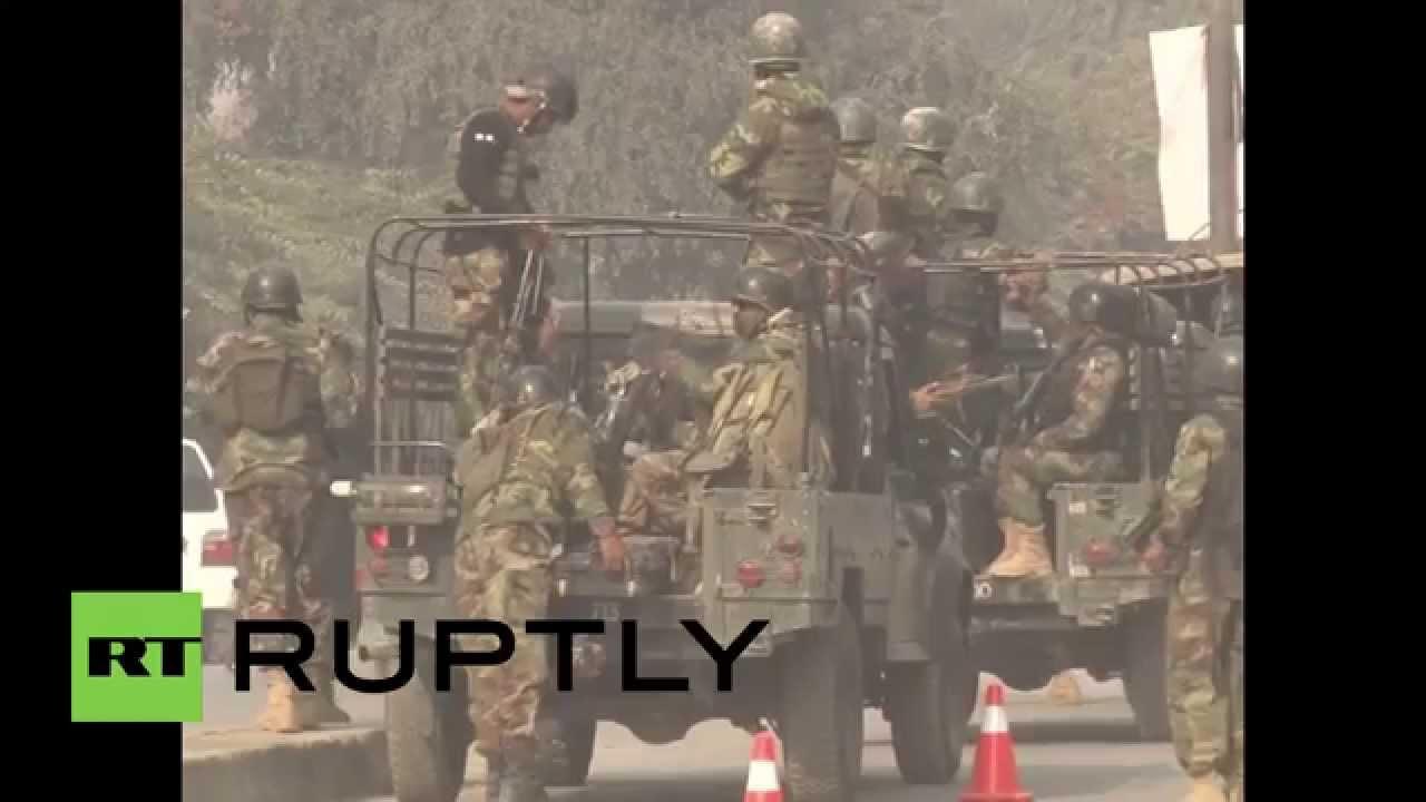 Pakistan Peshawar Army School Attack Kills 21 500 Held Hostage 1209 Kemeja Black Youtube
